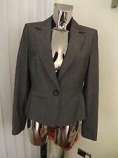 NEXT SP GREY SUIT JACKET BLAZER SIZE 12 LADIES BNWT RP £38