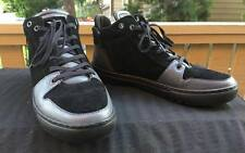 CREATIVE RECREATION  black leather SUEDE Mens athletic Shoes 9 NEW