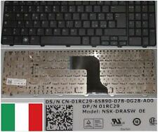 Clavier Qwerty Italien DELL Inspiron 15 N5010 M5010 NSK-DRASW 01RC29 O1RC29 Noir
