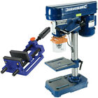 Rotary Action Bench Press Pillar Drill Press Machine + 100mm Quick Release Vice
