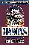 Conversations with the Cults: What You Need to Know about Masons by Ed Decker