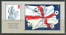 WORLD SOCCER CUP KOREA JAPAN ON U.K. GREAT BRITAIN 2002 Scott 2056, MNH