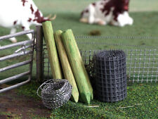 1/32 DIORAMA DISPLAY FENCING/FENCE SET BRITAINS, BRUSHWOOD FB061