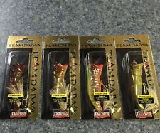 (4) Team Daiwa T.D. Mouthwasher Topwater Lures Discontinued Japan Lot TDMW1080F