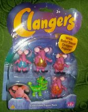 CLANGERS FIGURE PACK With Baby Soap Dragon Figure Toys Collectables The Mattel