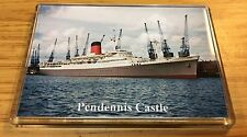 Union Castle Line PENDENNIS CASTLE Photo Fridge Magnet Mail Ship Liner b