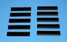 10 x IDC Cable 40-Pin PCB Female connectors (2x20), Fast ship from USA