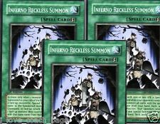 Inferno Reckless Summon 1ST X 3 Structure Deck Machina Mayhem SDMM YUGIOH