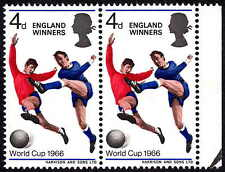 1966 4d World Football Cup SG700 Spec W96c Error / Flaw Patch on Thigh