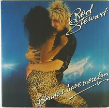 """12"""" LP - Rod Stewart - Blondes Have More Fun - C525 - washed & cleaned"""