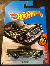 Hot Wheels 55 Chevy CUSTOM Super with Real Riders