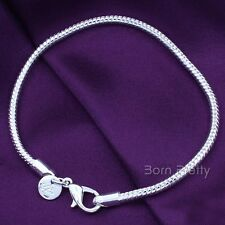 1Pc Unique Charm Elegant Snake Bone Bracelet Silver Jewelry Decoration
