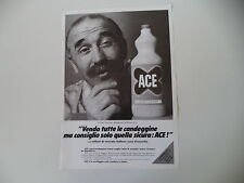 advertising Pubblicità 1968 ACE CANDEGGINA