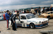 COLIN HAWKER DFV POWERED VW VOLKSWAGEN 1600 FASTBACK DECADNET PHOTOGRAPH 1976