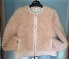 EMILIO PUCCI WOMANS $11600 LIGHT PINK MINK JACKET LIMITED SOLD OUT SZ.44 NWTAG