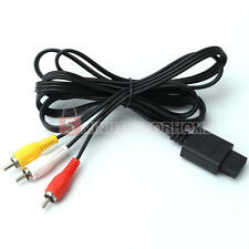 AV Audio Video Composite Cable Game Component for Nintendo WII N64 NGC SFC/SNES
