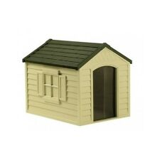 Suncast Dog House For Medium Large Small Big Outdoor Plastic DH250 Best Resin