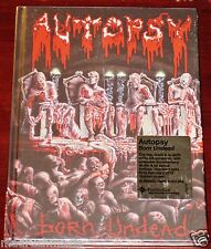 Autopsy: Born Undead DVD 2012 Bonus Peaceville Records DVDVILE14 Digibook NEW