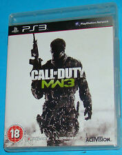 Call of Duty - MW3 Modern Warfare 3 - Sony Playstation 3 PS3 - PAL