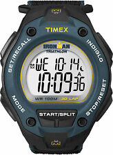 Timex T5K413, Men's Ironman Oversized Fast-Wrap Watch, Indiglo, T5K4139J