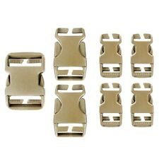 Condor Tactical Backpack & Gear Pouch Buckle Replacement & Easy Repair Kit - Tan