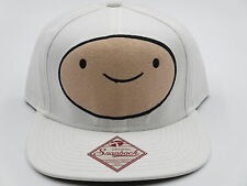 Adventure Time Finn White Bioworld Snapback Hat CLEARANCE SALE
