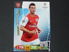 KOSCIELNY ARSENAL GUNNERS UEFA PANINI FOOTBALL CARD CHAMPIONS LEAGUE 2011 2012