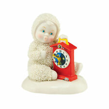 Dept 56 Snowbabies Guest Collection Fisher Price Tick Tock Baby 4051852 NEW NIB