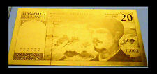 "★★ BILLET POLYMER  "" OR "" DU 20 FRANCS DEBUSSY ● DESTOCKAGE ★★ REF1"