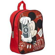 Nouveau Officiel Mickey Mouse Disney Garçons Filles Enfants Sac à dos sac à dos / sac d'école