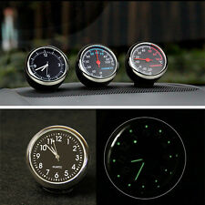 3in1 Vehicle thermometer Hygrometer Automobile electronic clock meter Car Motorc