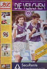 Programm Pokal 1998/99 Tennis Borussia Berlin - Hannover 96