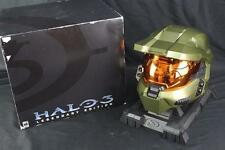 Halo 3 Legendary Edition Master Chief Collector's Helmet w/Stand & Box (No Game)