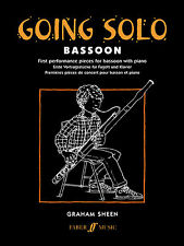 Going Solo Instrumental Solo Piano Keyboard Learn Play Bassoon FABER Music BOOK