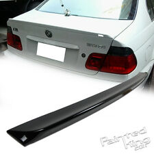 Painted 99-05 325i 325xi BMW E46 3 Series 4DR Trunk Spoiler New 668 black