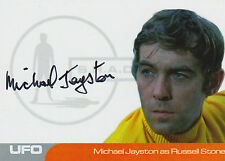 UFO Autograph Trading Card MJ2 Michael Jayston As Russell Stone