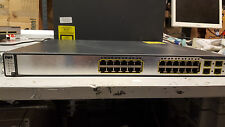 CISCO WS-C3750G-24TS-S1U Catalyst 3750 24 10/100/1000 + 4 SFP Std