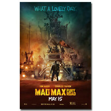 "Mad Max - Fury Road Movie Silk Poster 24x36"" Art Wall Decor 001"
