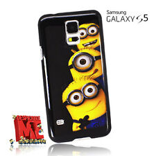 Despicable Me Minions Hard Case Back Cover For Samsung Galaxy S5 V i9600 +SP