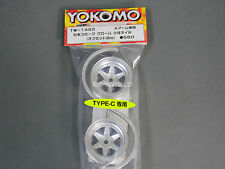 "Yokomo 1/10 RC Car WHEELS RIMS 6 -SPOKE "" Type-C "" 8MM Offset TW-14S2 (2PCS)"