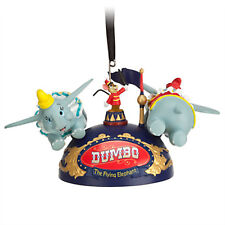 disney parks dumbo the flying elephant ear hat ornament new with tag