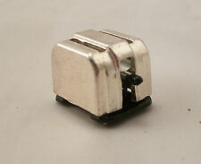 "Toaster w/ Toast dollhouse miniature furniture  1/12"" scale MA1053 metal"