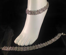 Silver Anklet/Payal,Stunning Fashion jewellery,Bollywood style,SV23-506