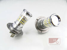 H7 Xenon WHITE 3014 SMD 48 TURBO LED CANBUS  Car Fog Bulbs fit VW