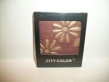 City Color Flower Eyeshadow Palette - Brown / Tan