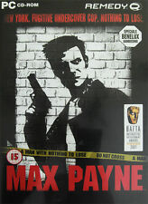 RARE - NEW & SEALED!!! • MAX PAYNE • PC CD-ROM • 100'S MORE GREAT LISTINGS!