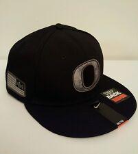 "NWT-NIKE OREGON DUCKS Camo Pioneer Pack 33 Rare SnapBack Hat ""Salute to Service"""