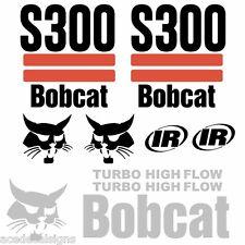 S300 Decals S300 Stickers Bobcat Loader Decals(2S)