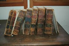 Clarke's Commentary on the Bible -Adam Clarke-6 Vol. - 1833, Old & New Test, LB
