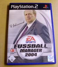 PlayStation 2-futbol Manager 2004 (EA Sports Soccer) completo alemán ps2